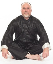 Tai Chi teacher sitting
