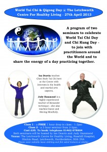 world tai chi day seminars