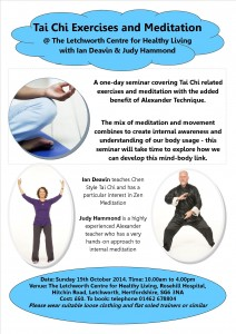 tai chi exercises and meditation oct 14