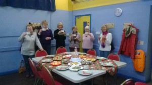 Shefford Tai Chi class Christmas lunch 2014