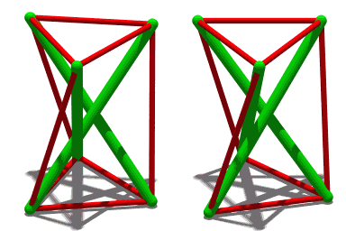 Simple Tensegrity structure