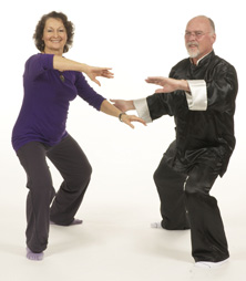 Healthy exercise from Tai Chi and Alexander Technique