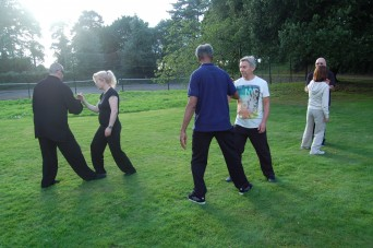 Shefford Tai Chi group at their residential weekend