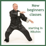 New beginners Tai Chi classes in Hitchin
