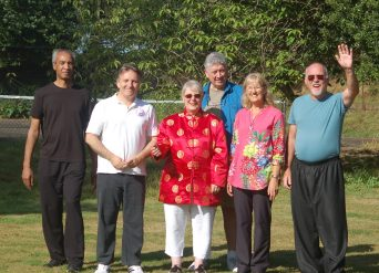 Tai Chi group at Belsey Bridge 2016