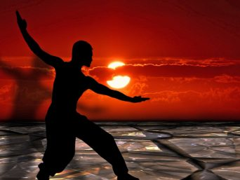 Tai Chi at sunset