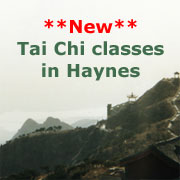 New Tai Chi classes in Haynes