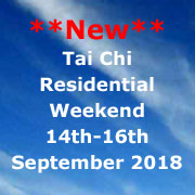 Tai Chi Residential Retreat, September 2018