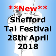 Shefford Tai Chi Festival, 28th April 2018