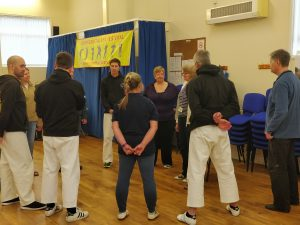 Group doing Alexander Technique