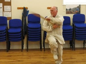 Tai Chi broad sword demonstration
