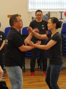 Wing Chun demonstration