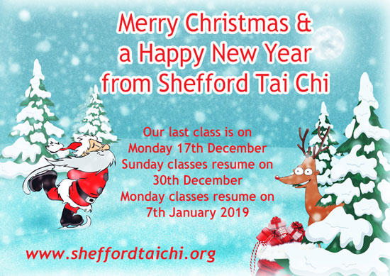 Merry Christmas from Shefford Tai Chi