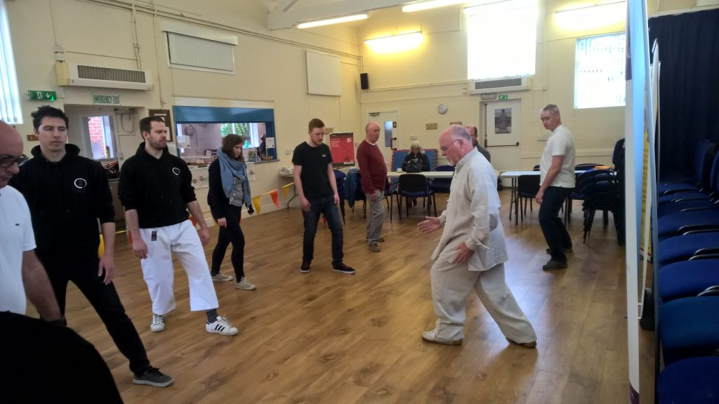 Tai Chi practice at the Shefford Festival